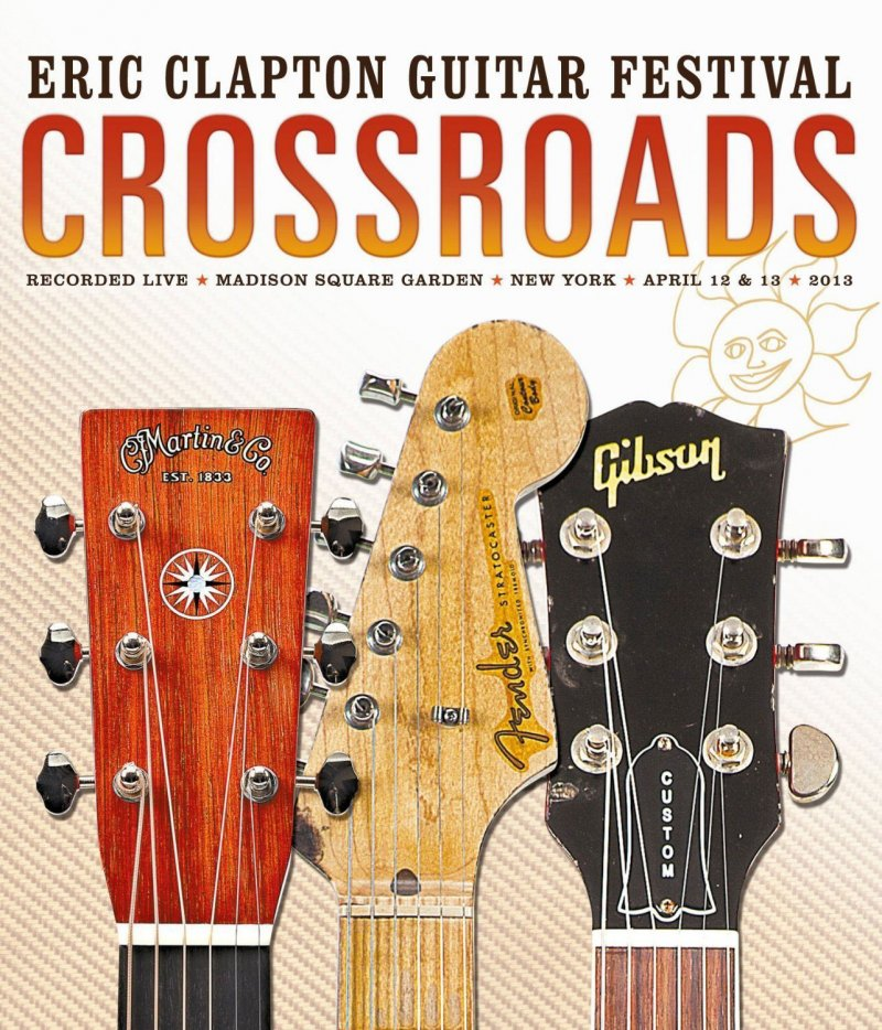 Image of   Eric Clapton Crossroads Guitar Festival 2013 - Blu-Ray