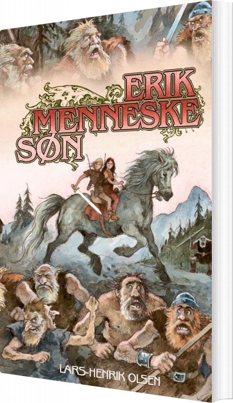 Image of   Erik Menneskesøn - Lars-henrik Olsen - Bog