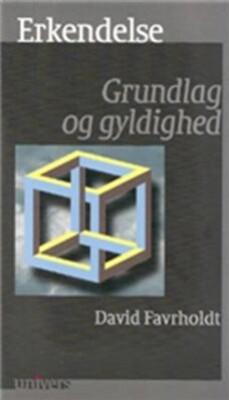Image of   Erkendelse - David Favrholdt - Bog