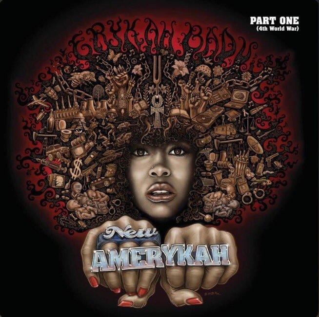 Image of   Erykah Badu - New Amerykah - Part One - CD