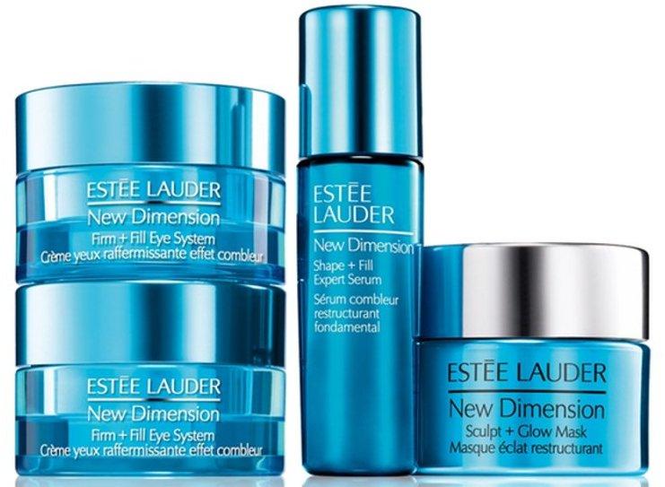 Image of   Estée Lauder New Dimension Creme 10 Ml & New Dimension Serum 7 Ml & Maske 15 Ml