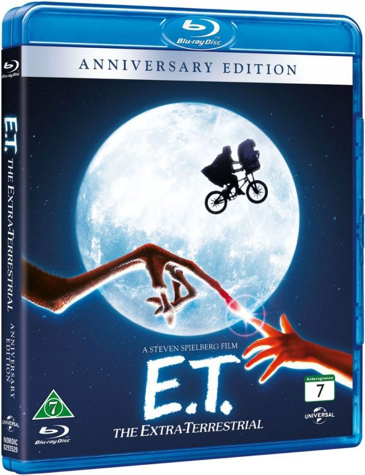 Image of   E.t. Film - The Extra-terrestrial - Blu-Ray