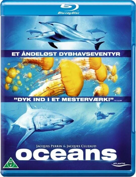 Image of   Oceans - Et åndeløst Dybhavseventyr - Blu-Ray