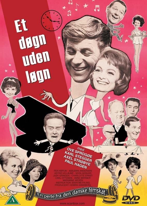 Image of   Et Døgn Uden Løgn - DVD - Film