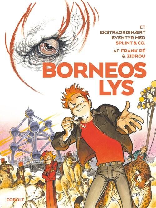 Billede af Borneos Lys - Splint & Co - Zidrou - Tegneserie