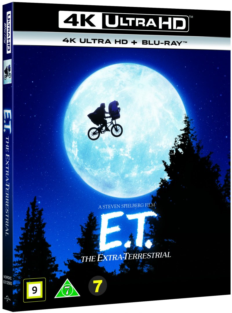 Image of   E.t. Film - The Extra-terrestrial - 4K Blu-Ray