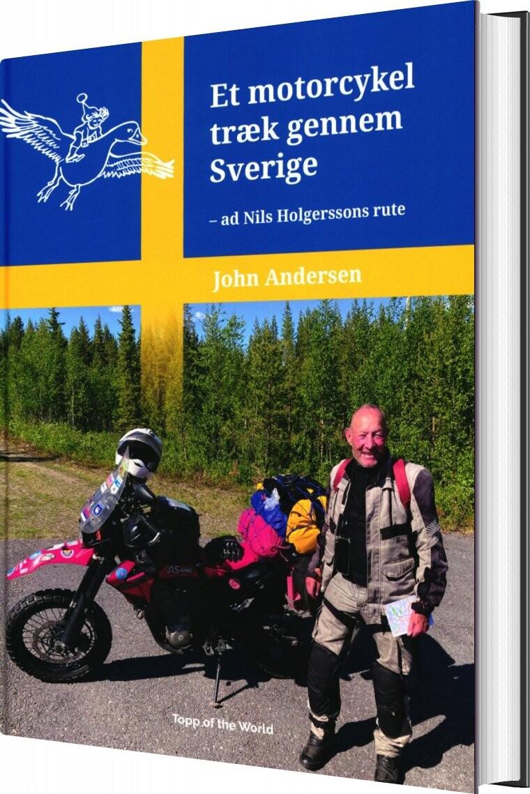 Et Motorcykeltræk Gennem Sverige - John Andersen - Bog