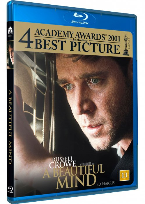 Image of   A Beautiful Mind / Et Smukt Sind - Blu-Ray