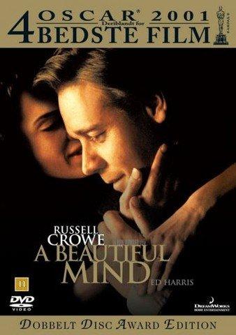 Image of   A Beautiful Mind / Et Smukt Sind - DVD - Film