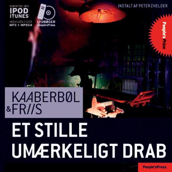 Image of   Et Stille Umærkeligt Drab - Friis - Cd Lydbog