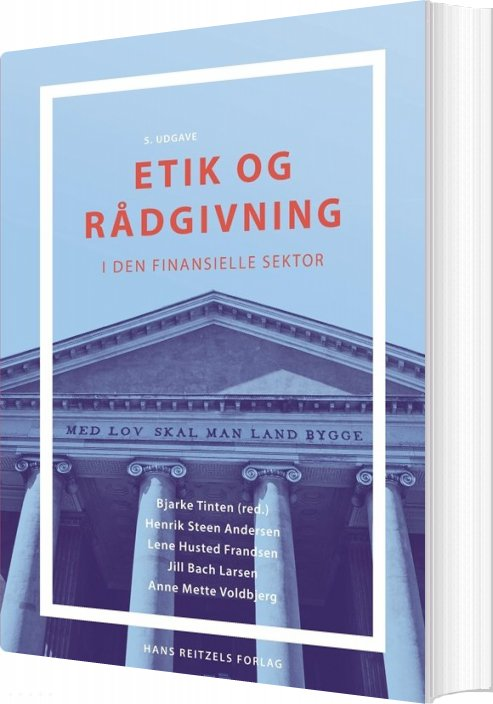 Image of   Etik Og Rådgivning - Henrik Steen Andersen - Bog