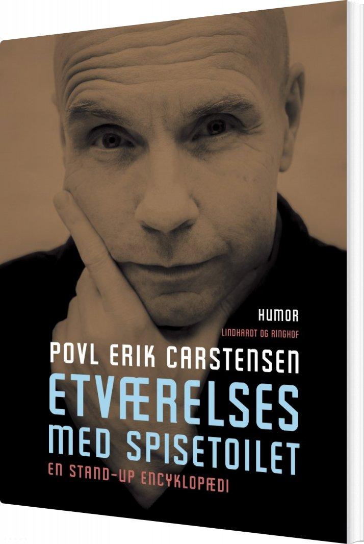 Image of   Etværelses Med Spisetoilet - Povl Erik Carstensen - Bog