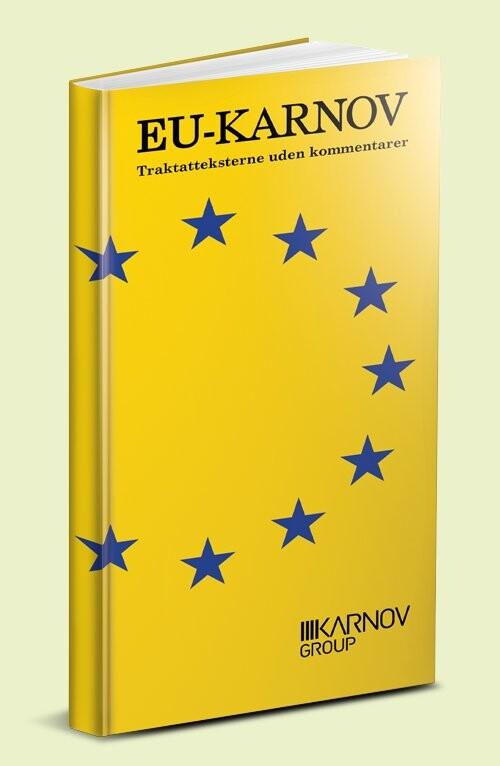 Image of   Eu-karnov Traktatteksterne Uden Kommentarer - Bog
