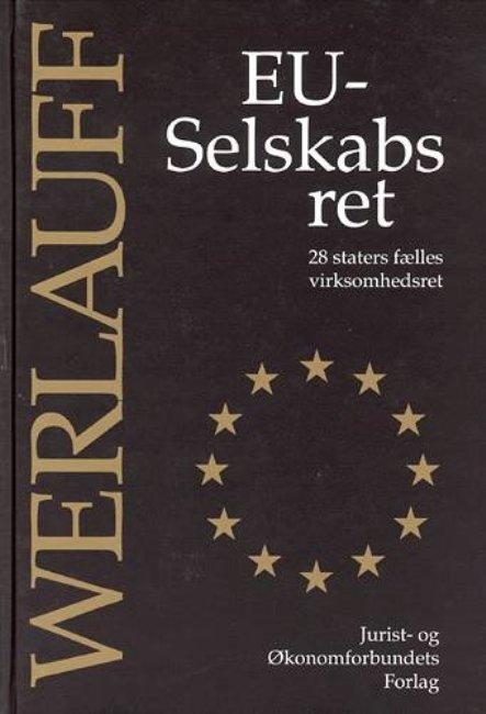 Image of   Eu-selskabsret - Werlauff E - Bog