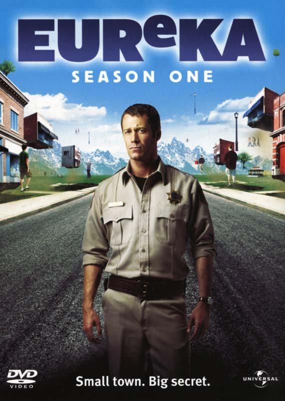 Image of   Eureka - Sæson 1 - DVD - Tv-serie