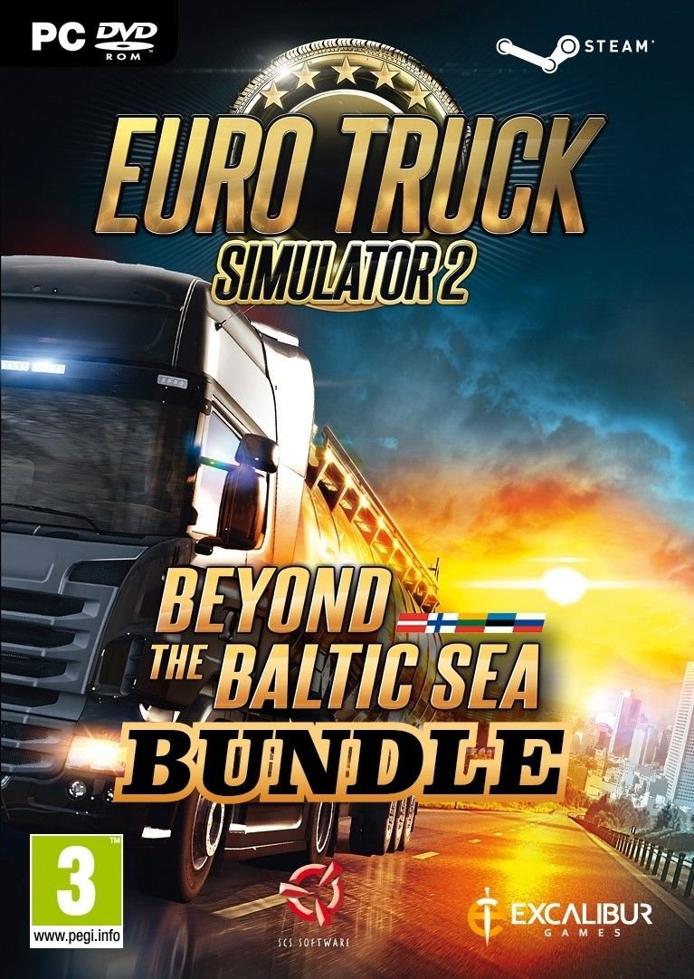 Image of   Euro Truck Simulator 2: Beyond The Baltic Sea (bundle) - PC