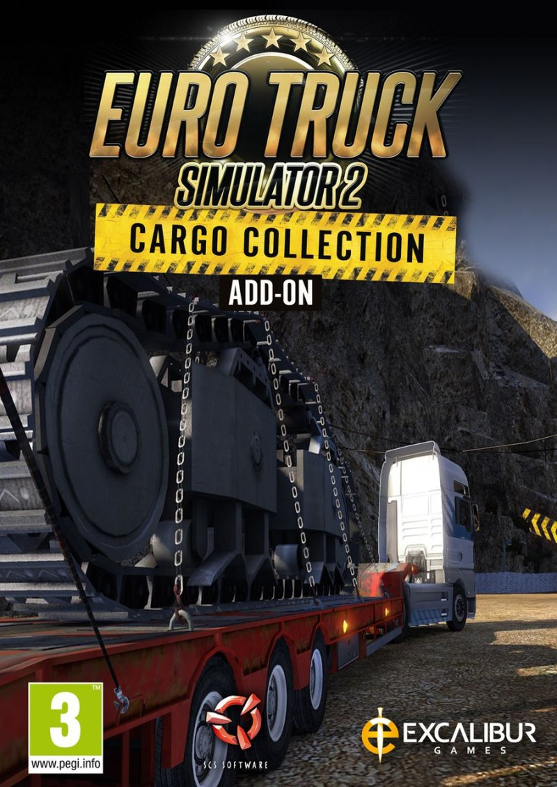 Image of   Euro Truck Simulator 2 - Cargo Collection Add-on - PC