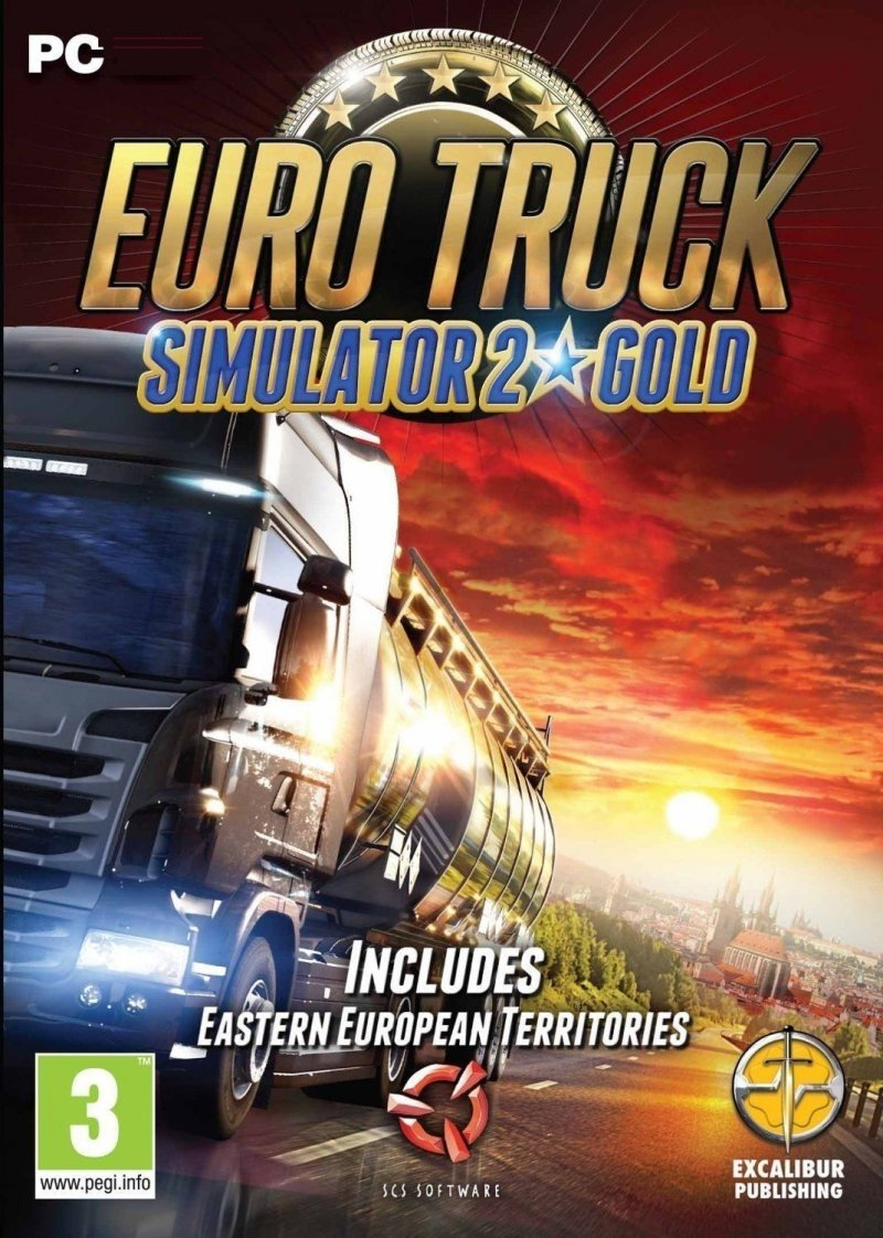 Image of   Euro Truck Simulator 2 - Cargo Collection Gold - PC