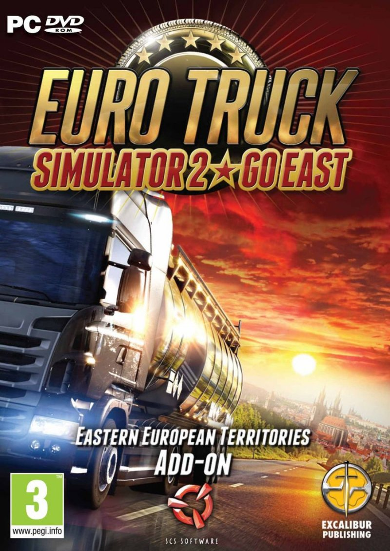 Image of   Euro Truck Simulator 2 - Go East Add-on (nordic) - PC