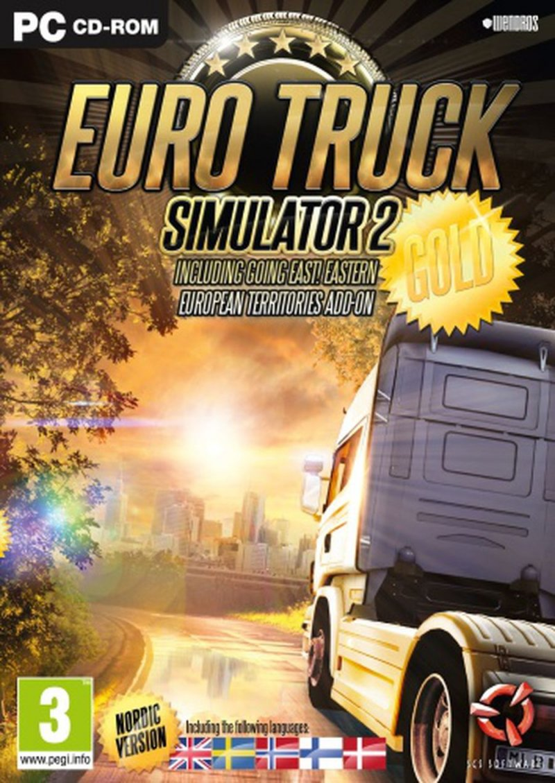 Image of   Euro Truck Simulator 2 - Gold Edition (nordic) - PC