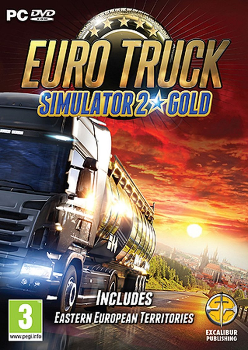 Image of   Euro Truck Simulator 2 - Gold Edition - PC