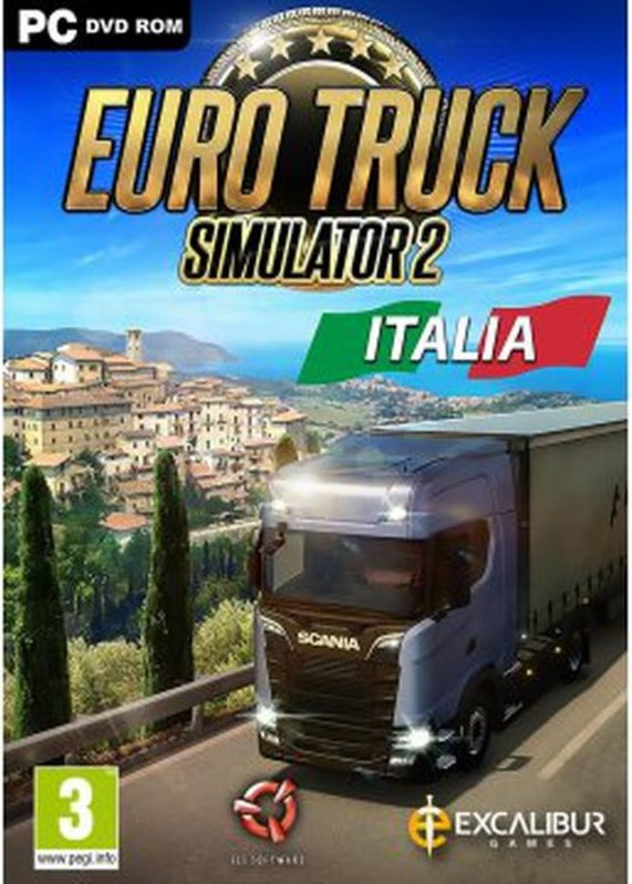 Image of   Euro Truck Simulator 2 - Italia - PC