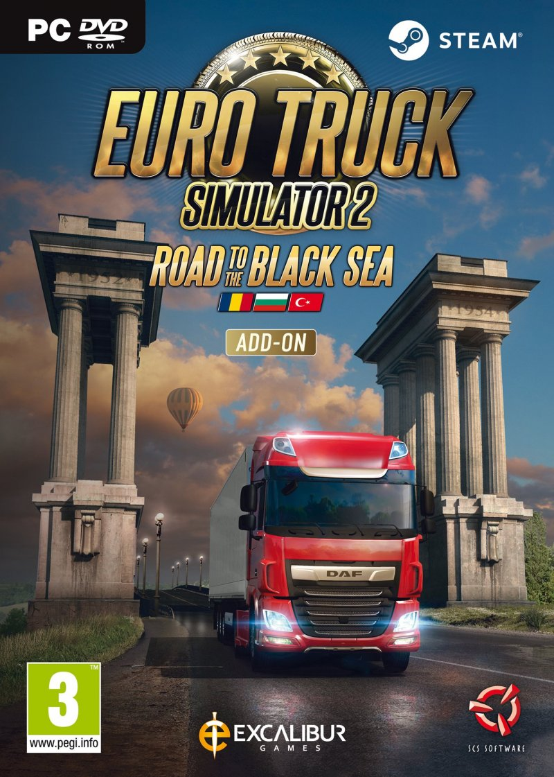 Image of   Euro Truck Simulator 2: Road To The Black Sea - PC