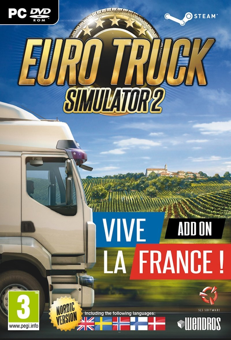 Image of   Euro Truck Simulator 2 - Vive La France! Add-on (nordic) - PC