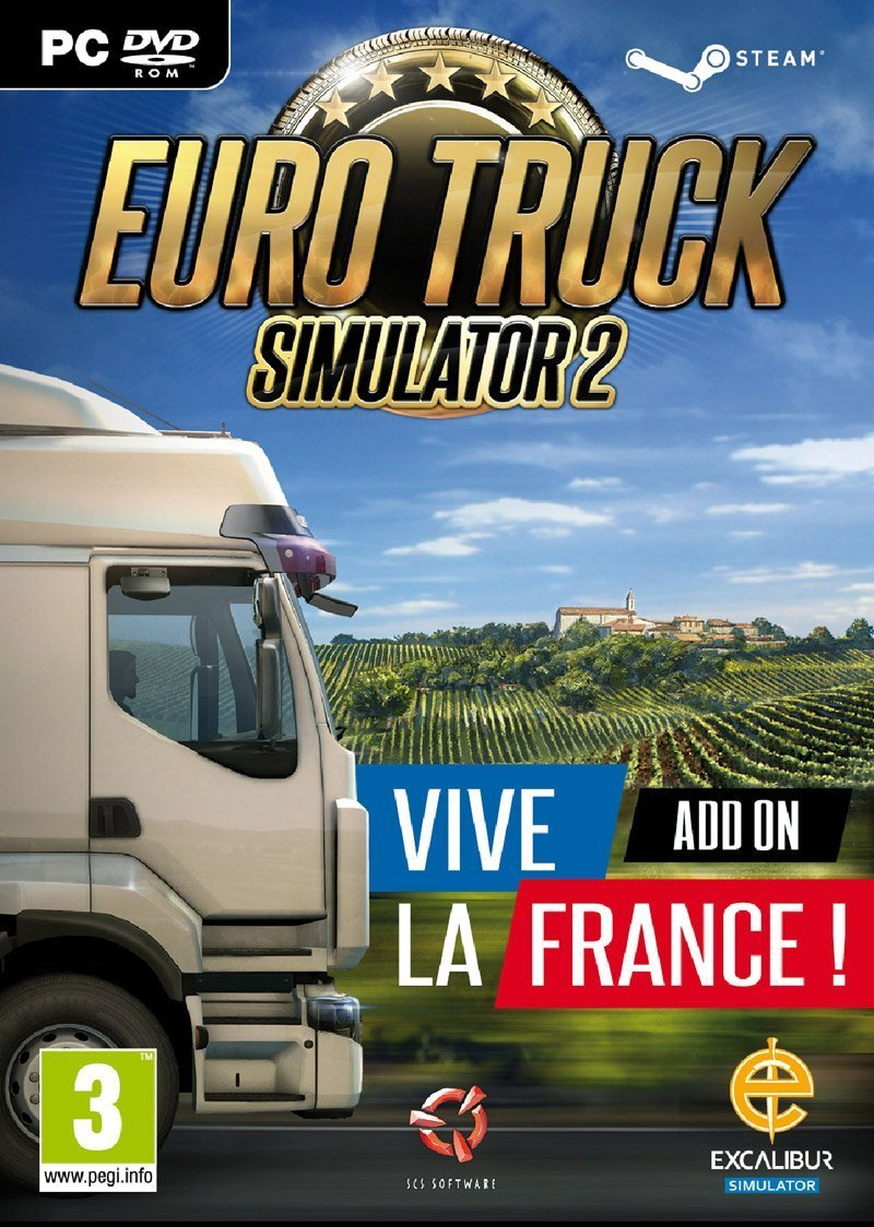 Image of   Euro Truck Simulator 2 - Vive La France! Add-on - PC