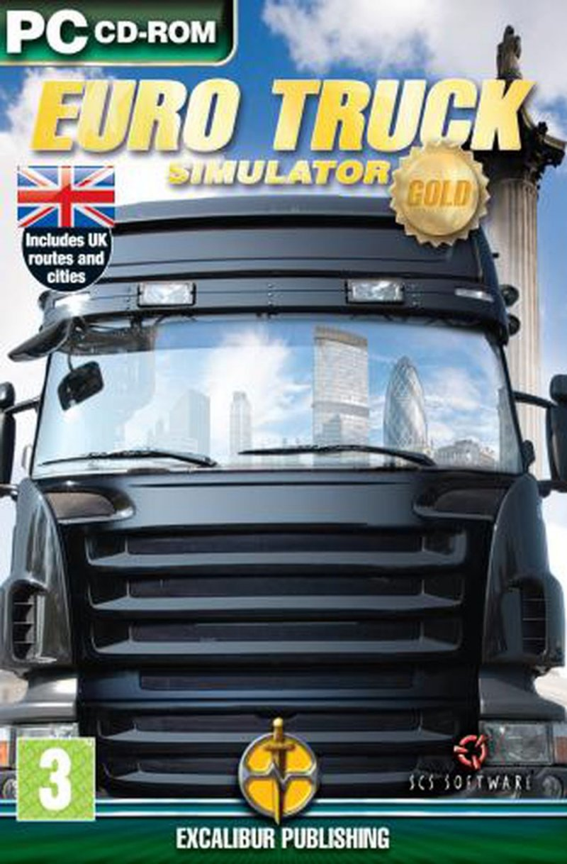 Image of   Euro Truck Simulator: Gold Edition - PC
