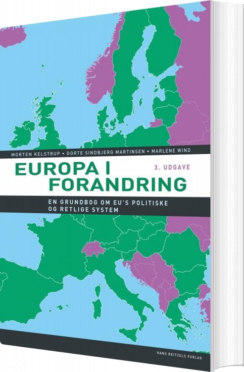 Europa I Forandring - Marlene Wind - Bog
