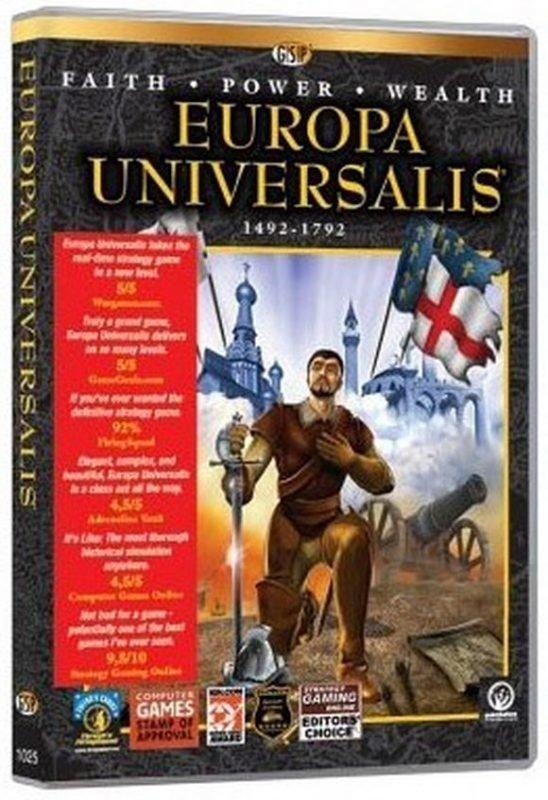 Image of   Europa Universalis - PC