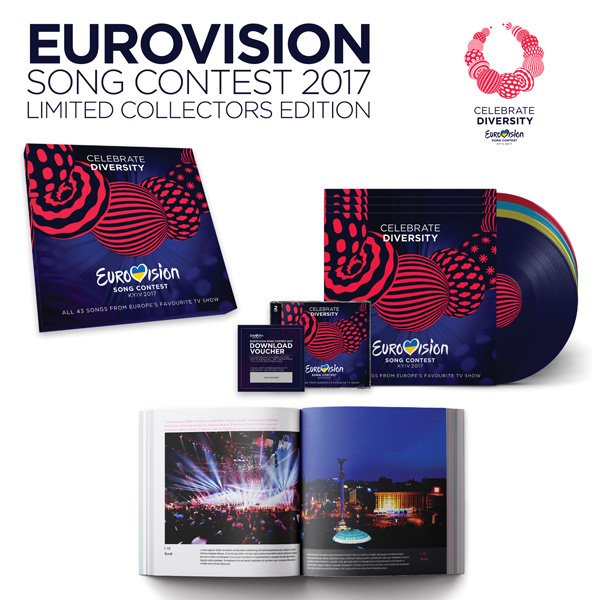 Image of   Eurovision Song Contest 2017 Kyiv - Deluxe Edition - Vinyl / LP