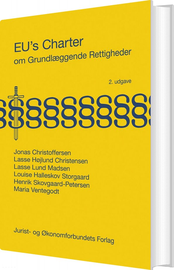 Image of   Eus Charter Om Grundlæggende Rettigheder - Lasse Højlund Christensen - Bog