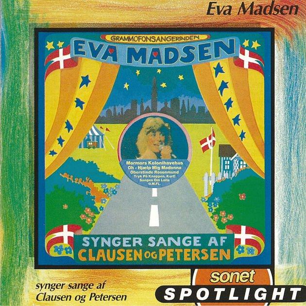 Image of   Eva Madsen - Synger Sange Af Clausen & Petersen - CD