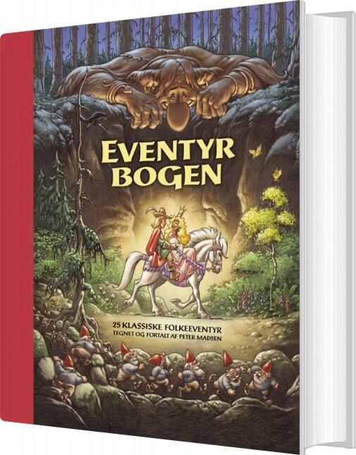 Eventyrbogen - Luksusudgave I Eksklusiv æske - Peter Madsen - Bog