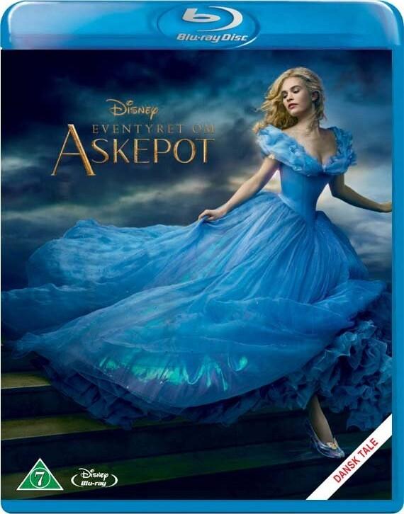 Image of   Eventyret Om Askepot / Cinderella - Disney - Blu-Ray