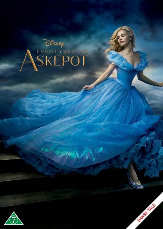 Image of   Eventyret Om Askepot / Cinderella - Disney - DVD - Film