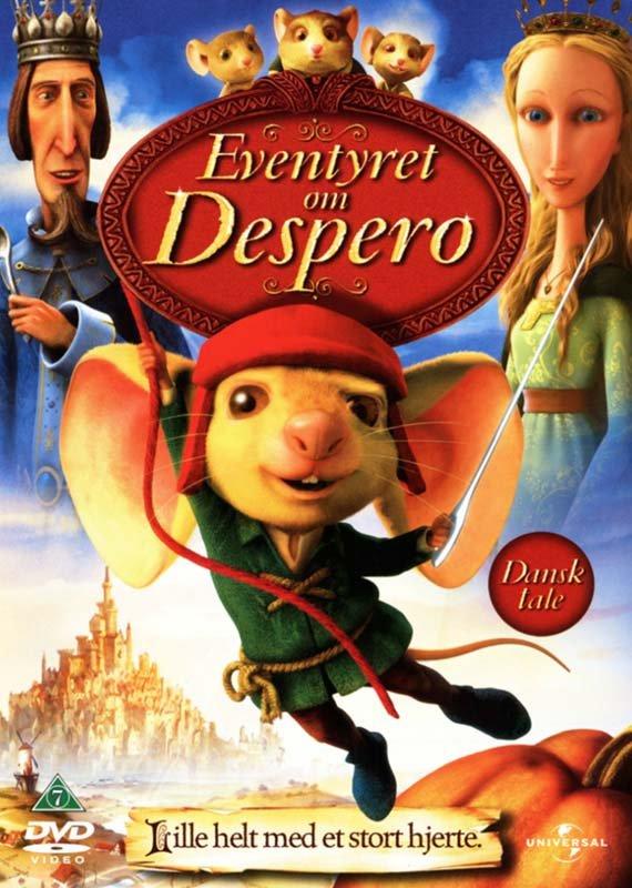 Image of   Eventyret Om Despero - DVD - Film