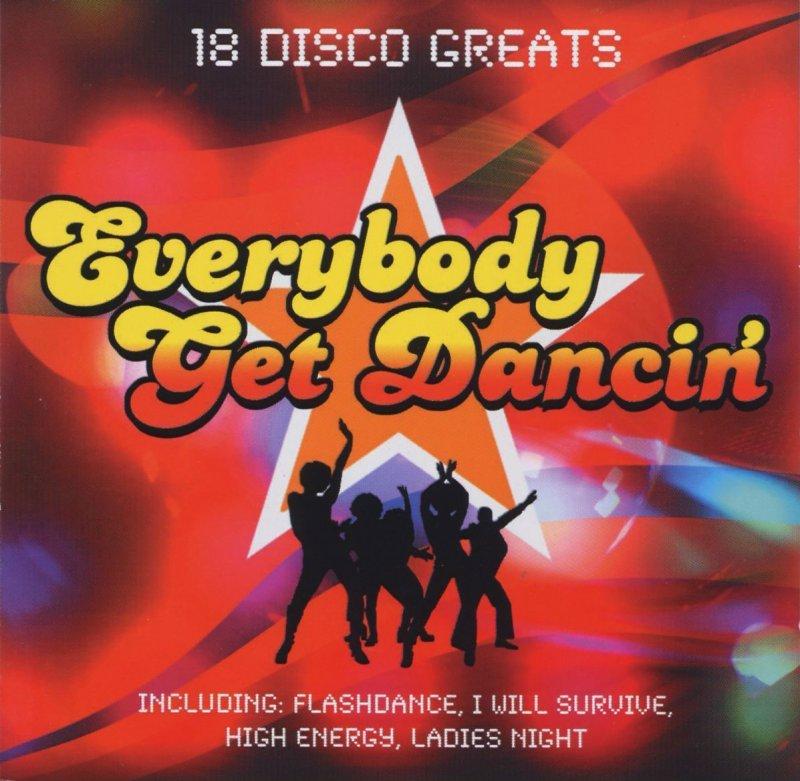 Image of   Everybody Get Dancin - CD