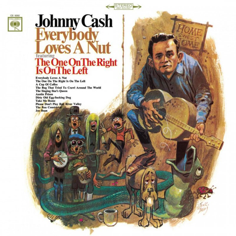 Image of   Johnny Cash - Everybody Loves A Nut - Vinyl / LP