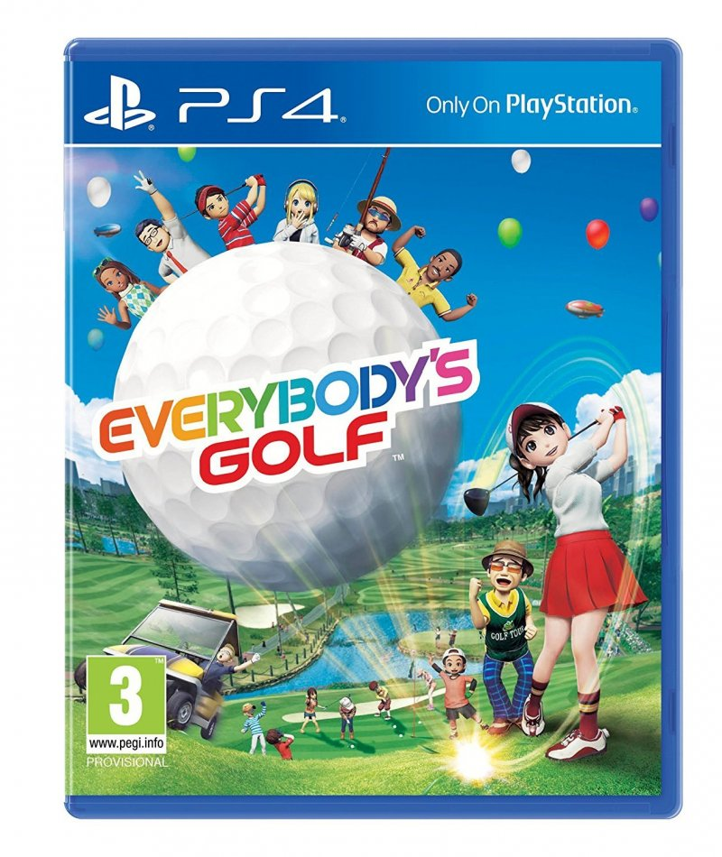 Image of   Everybodys Golf - PS4