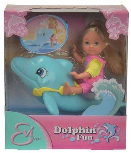 Image of   Evi Love Dukke - Delfinsvømning