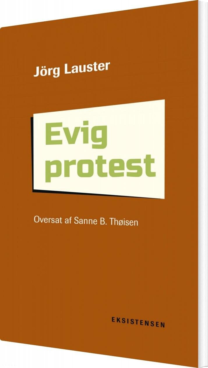 Image of   Evig Protest - Jörg Lauster - Bog