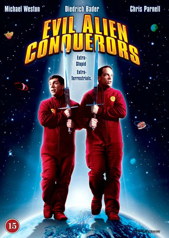 Image of   Evil Alien Conquerors - DVD - Film