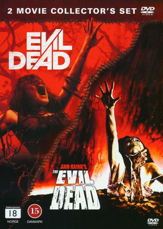 Image of   Evil Dead + Evil Dead (remake 2013) - DVD - Film
