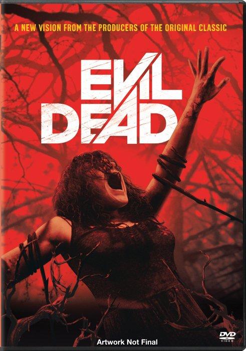 Image of   Evil Dead - Remake 2013 - DVD - Film