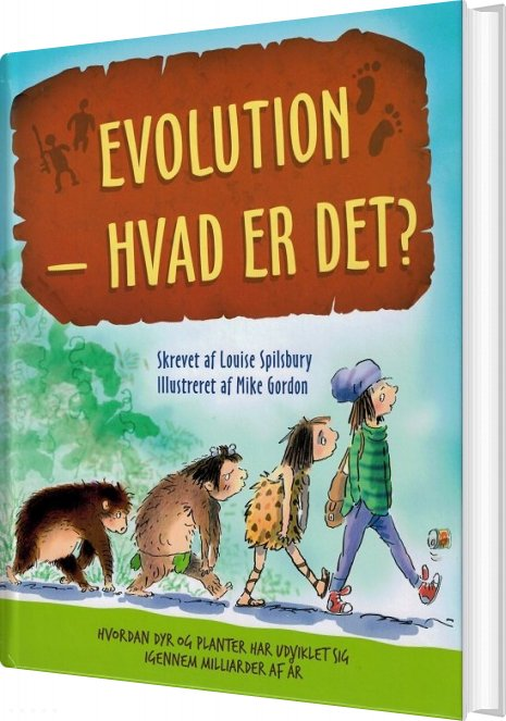 Image of   Evolution - Hvad Er Det? - Louise Spilsbury - Bog