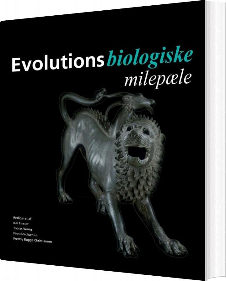 Image of   Evolutionsbiologiske Milepæle - Tobias Wang - Bog