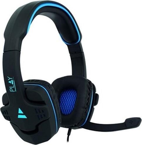 Image of   Ewent Gaming Høretelefoner Med Mikrofon Pl3320 - Sort Blå